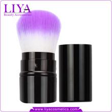 Beauty Accessories Human Hair High Quality Retractable Powder Brush