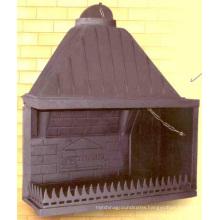 Greece Cast Iron Fireplace Insert (GF006) Wood Burning Fireplace