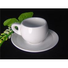 Фарфоровая чашка кофе с толстой стенкой