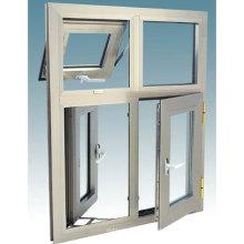 Janela de Inclinação-Vento para dentro e para o exterior de alumínio (janela do toldo)