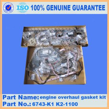 Gasket kit cylinder head 6743-K1-1100 for PC300-7 engine
