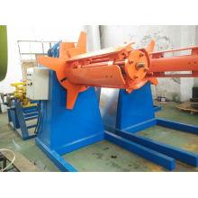 Arbeitsgeschwindigkeit 30m / Min 5 Tonne Hydraulischer Decoiler