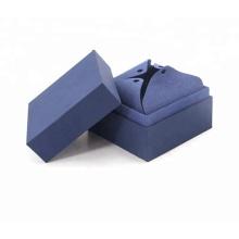 Coffret cadeau collier magnétique pliant plat en papier carton