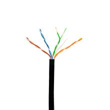 Azul Cat5e UTP 4pr 24awg sólido cable de cobre de Ethernet