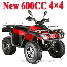 Nuevo 600cc 4 X 4 Raptor ATV bici del patio (mc-395)
