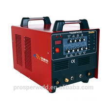 La soldadora de aluminio portátil TIG 200P AC más popular con pulsos