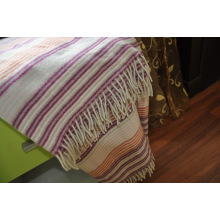 Woolen Woven Travel Wool Throw (NMQ-WT044)