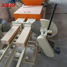 wood pallet sawdust block making machine