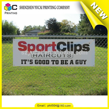 Good quality PVC printing banner flag outdoor and reflective advertising outdoor banner