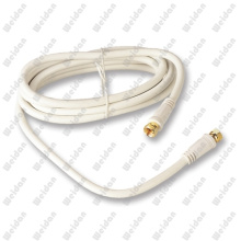 RG6 Coaxial Gold Plated Digital Satellite TV VCR Cable 3meter