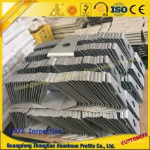 Perfil de aluminio de los muebles con la base de computadora del procesamiento profundo del CNC