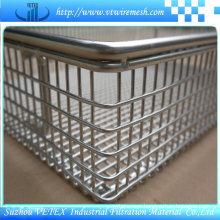 Acid-Resisting Stainless Steel Wire Mesh Basket
