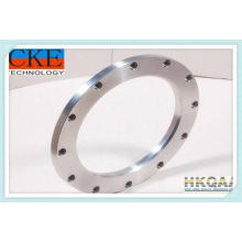 Anodized Aluminum Custom Machined Parts / CNC Drilled Ring