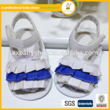 2015 linda ló de borracha lisa exclusiva de alta qualidade mais lastest design sapatos de sandálias de bebê infantil para menina