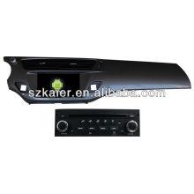 Reproductor de DVD del coche Android System para Citroen C3 con GPS, Bluetooth, 3G, iPod, juegos, zona dual, control del volante