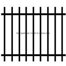 Clôtures extérieures de fer de clôture de fer en métal