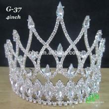 El nuevo desfile al por mayor de la tiara de la alta calidad corona la tiara de la princesa nupcial