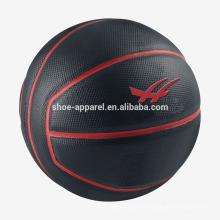 Atacado indoor ou ao ar livre tamanho 7 basquete de borracha