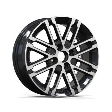 Aluminium Kia Replica Rim 15-16-17 Satin Black