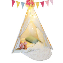 100% COTTON MATERIAL TEEPEE kids a frame tent