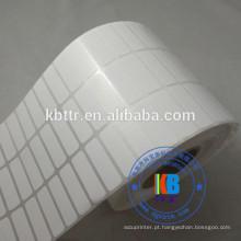 Etiqueta térmica de transferência de etiqueta de código de barras papel térmico direto