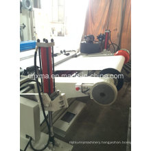 High Speed Slitting and Rewinding Machine with Hydraulic Shaftless Unwind System