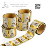 Printing plastic BOPP plastic film for Coconut candy packaging film