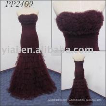 2011 бесплатная доставка высокое качество elgant последний платье PP2409 2011
