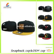 Kundenspezifische Stickereientwurfslogo-Hysteresenhut-Baseballhüte und -kappe