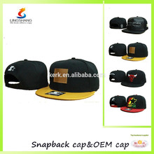 Custom embroidery designs logo snapback hat baseball hats and cap