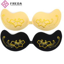 China for Supply Various Front Closure Invisible Bra,Strapless Seamless Bra,Front Closure Bras of High Quality Embroidery Freebra Silicone Adhesive Strapless Bra supply to United States Factories