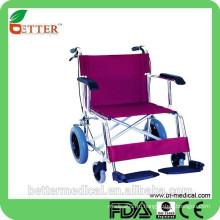 Алюминиевая красивая инвалидная коляска тачка