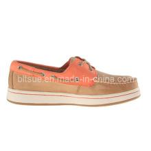 Men Fashion Boat Leather Shoes