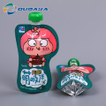 Customized Plastic Packaging Beverage Pouch with Spout