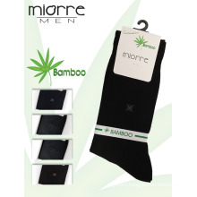 Miorre OEM Men's Sweat- Absorbent & Anti- Bacterial Breathable Bamboo Socks