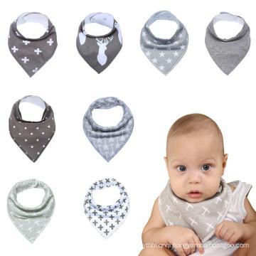 8packs gift baby bibs boys&girls baby bibs bandana