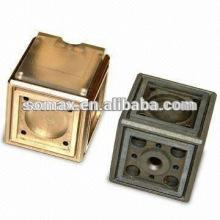 Service d'OEM de Taiwan, pièces de fonderie de précision zinc die die casting Glashersteller