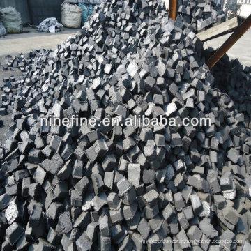 pâte d'alliage de graphite d'utilisation de four d'alliage / pâte d'électrode de carbone