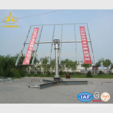 Street Steel Solar Lamp Post