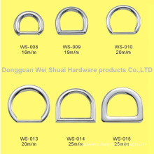 Zinc Alloy Type D Buckles