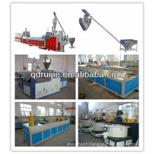 WPC floor extruding machine