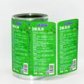 Autocollant de bouteille de lotion d'impression d'étiquette de bouteille en plastique personnalisée