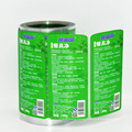 Custom printing vinyl bottle adhesive labels clear sticker