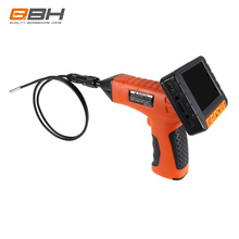 QBH AV7810 wireless snake video borescope with 3.5 inch screen 3.9mm diameter camera 1-20 meters cable