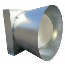Aves de corral / Industria / Doble puerta / Extractor de cono de mariposa Ventilador de volumen de aire grande con CE