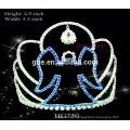 Corona congelada corona alta corona redonda al por mayor corona coronas en forma de corona