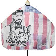 Barber Shop Hot Selling New Design Polyester Barber Cape
