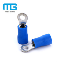Easy Enter Small Blue Cooper Insulated Ring Terminals