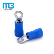 Fácil entre em terminais de anel isolado pequeno Cooper azul