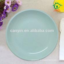 Round barato barato cerâmica catering pratos